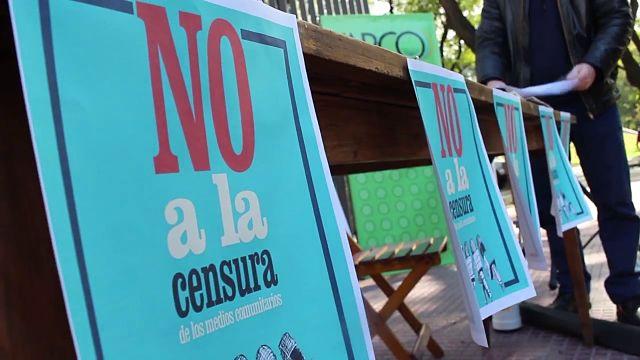 Medios Vecinales Conferencia de prensa en el Gobierno de la Ciudad de Buenos Aires